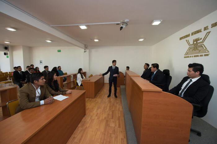 Sala de Simulación de Juicios Orales