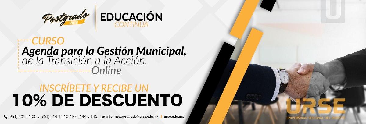 curso de gestion municipal