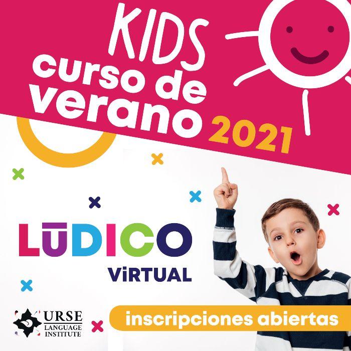 curso de verano ingles virtual para niños
